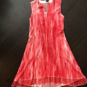 Boutique Coral Dress